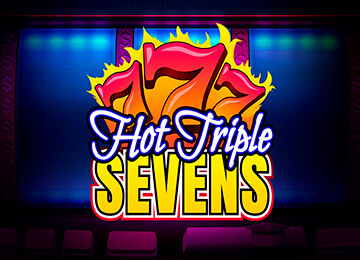 Игровой автомат Hot Triple Sevens